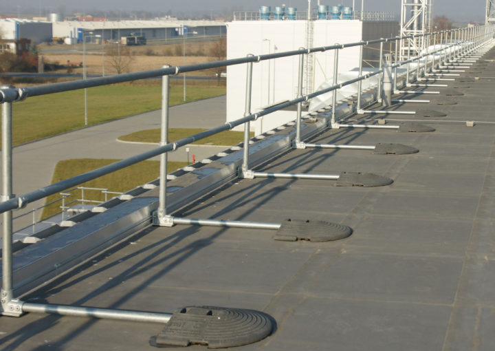 KeeGuard rooftop railings