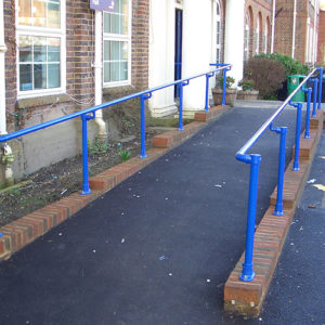 Kee Access disabled handrails proivde safe access to schools