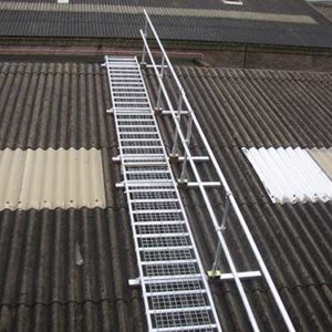 Board-Walk provides a safe working platform for fragile roof work